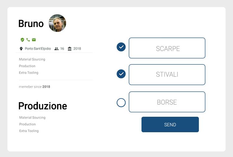 Crea il tuo profilo - Italian Artisan