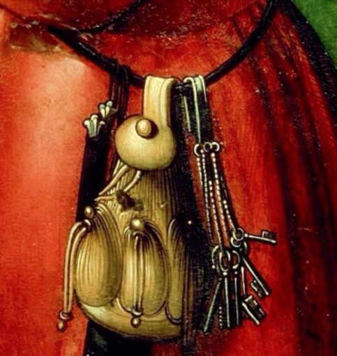 Medieval German money purse, 15th century