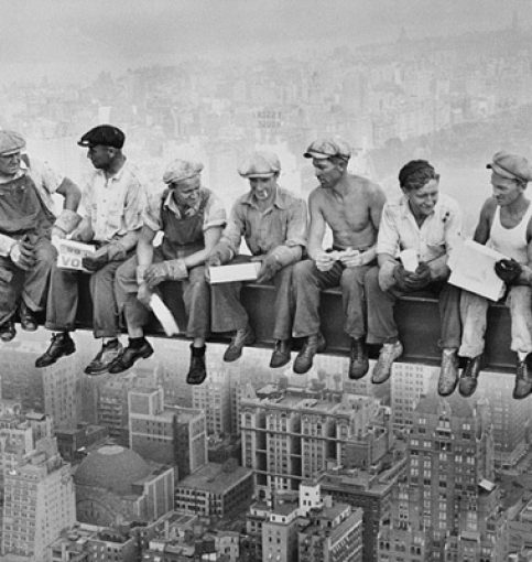 C. Ebbets, Lunch atop a Skyscraper, 1932